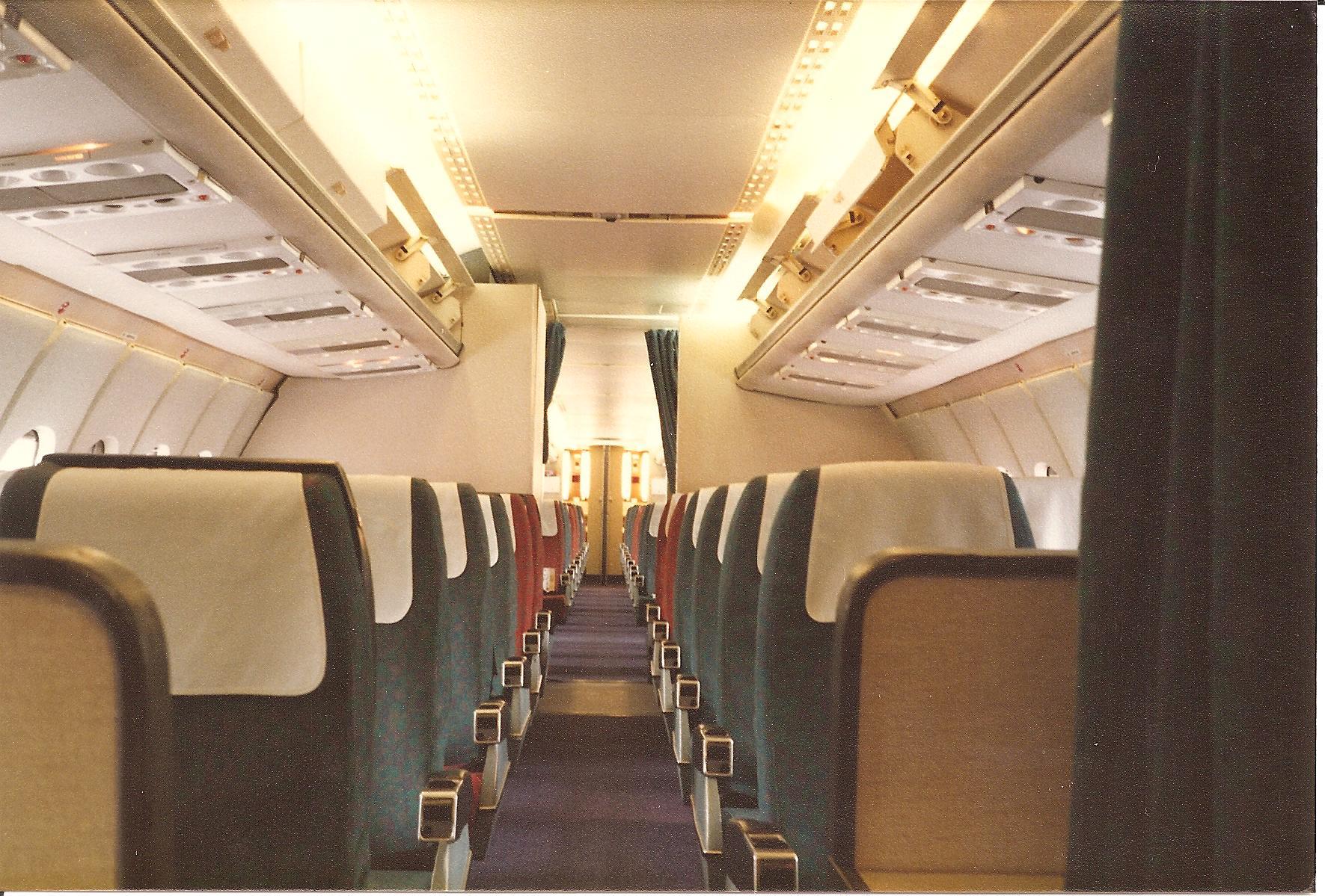 Cabin after final flight