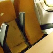 Seat fabric on its way