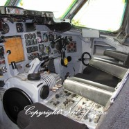 Cockpit seats in place