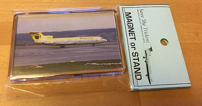 Northeast Airlines Trident Keyring