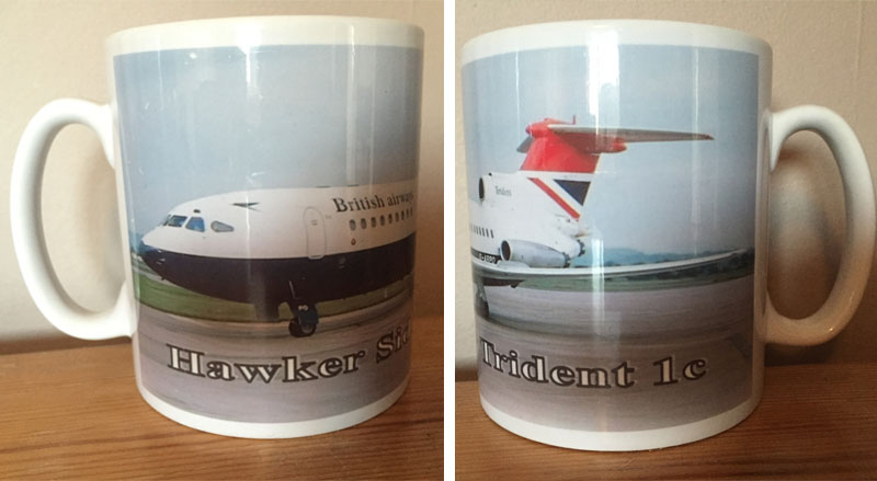 British Airways Trident Mug