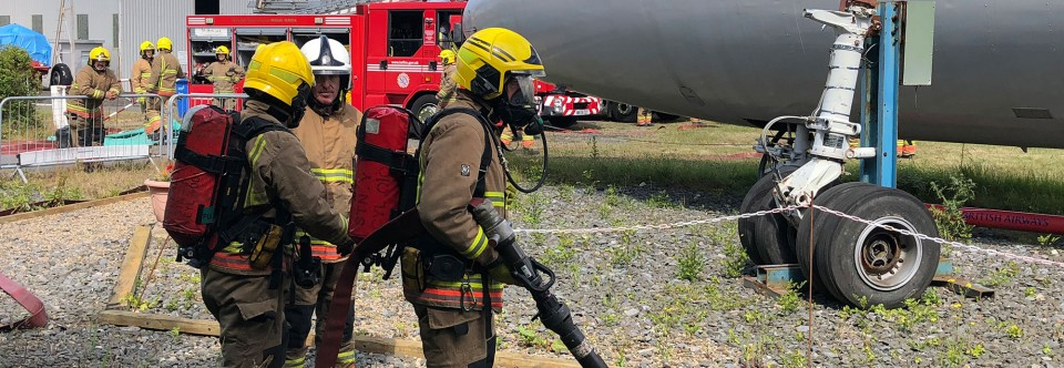 G-ARPO Hosts Local Firefighters