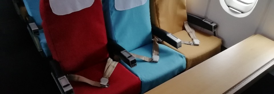 Trident Seatbelts Installed