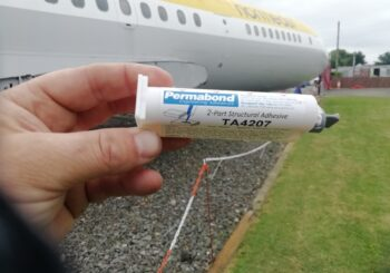 Permabond Adhesives Helping to Restore our Trident