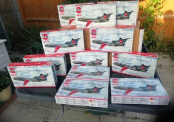Airfix Sponsors us with New Trident Model Kit